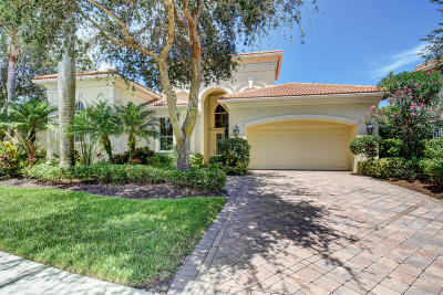 Palm Beach Gardens Single Family Home For Sale: 104 Monte Carlo Drive