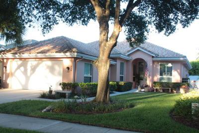 Jupiter Single Family Home For Sale: 138 Hampton Circle