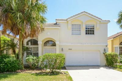 Lake Worth Single Family Home For Sale: 7522 Sally Lyn Lane