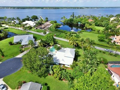 Stuart Single Family Home For Sale: 2557 NW Wide River Cove