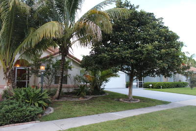 Wellington Single Family Home For Sale: 12620 White Coral Drive
