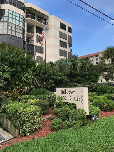 Hillsboro Beach Condo For Sale: 1155 Hillsboro Mile #206