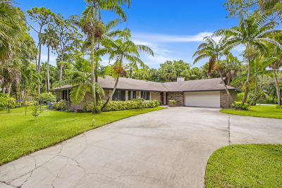West Palm Beach Single Family Home For Sale: 7095 High Sierra Circle