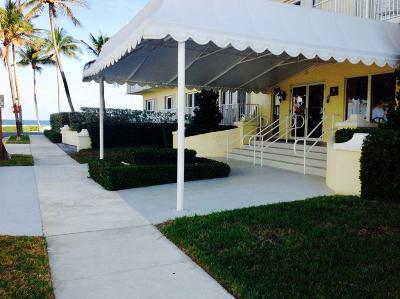Palm Beach Condo For Sale: 350 S Ocean Boulevard #107
