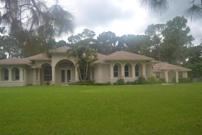 Royal Palm Beach Single Family Home For Sale: 13174 44th Place