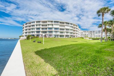 Palm Beach Condo For Sale: 2760 S Ocean Boulevard #414