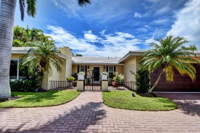 Broward County, Palm Beach County Single Family Home For Sale: 840 Granada Drive