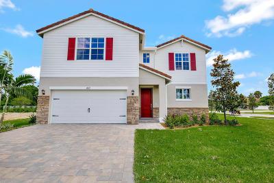 Royal Palm Beach Single Family Home For Sale: 50 Palmetto Lane