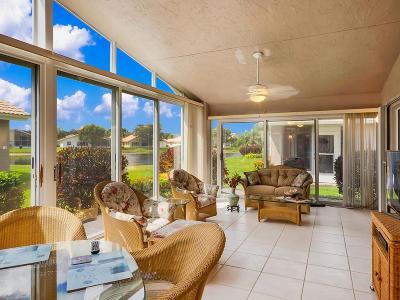 Boynton Beach Single Family Home For Sale: 7258 Amber Falls Lane