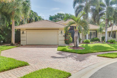 Boynton Beach Single Family Home For Sale: 8053 Via Grande