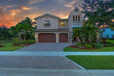 Jupiter Single Family Home For Sale: 120 Umbrella Place