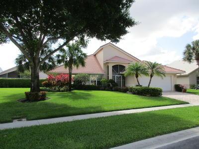 Boynton Beach Single Family Home For Sale: 12246 Eagles Landing Way
