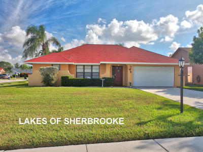 Lake Worth Single Family Home For Sale: 8425 Morning Star Road