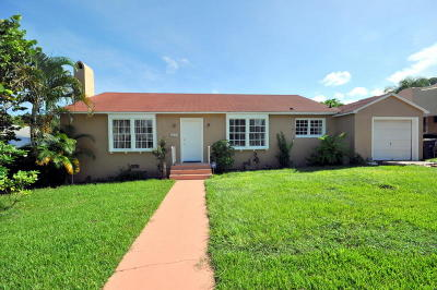 West Palm Beach Single Family Home For Sale: 826 37th Street