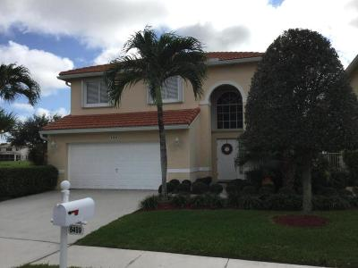 Lake Worth Single Family Home For Sale: 6489 Willoughby Circle