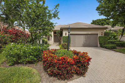 Palm Beach Gardens Single Family Home For Sale: 13389 Verdun Drive