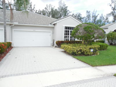 Boynton Beach Single Family Home For Sale: 7888 Rockford Road