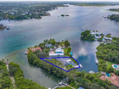 Jupiter Single Family Home For Sale: 1310 Peninsular Road