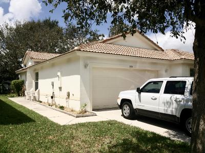 Boynton Beach Single Family Home For Sale: 1015 Fosters Mill Road