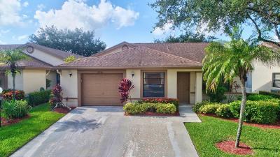 Boca Raton Single Family Home For Sale: 8056 Hiddenview Terrace #8056