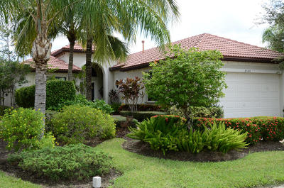 West Palm Beach Single Family Home For Sale: 6580 Sparrow Hawk Drive