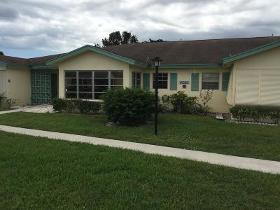 Delray Beach Single Family Home For Sale: 14285 Nesting Way #B