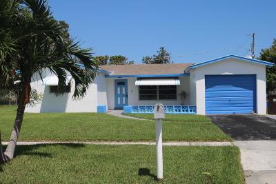 West Palm Beach Single Family Home For Sale: 1815 Pinehurst Drive