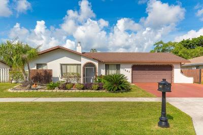 Boca Raton Single Family Home For Sale: 17647 Holly Brook Way