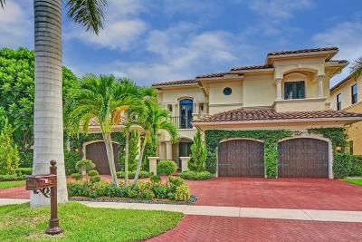 Boca Raton Single Family Home For Sale: 17830 Monte Vista Drive