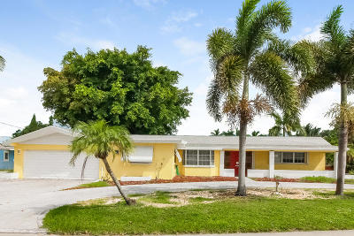 Boynton Beach Single Family Home For Sale: 620 Ocean Inlet Drive