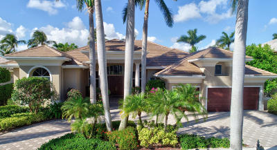 Boca Raton Single Family Home For Sale: 3435 Windsor Place