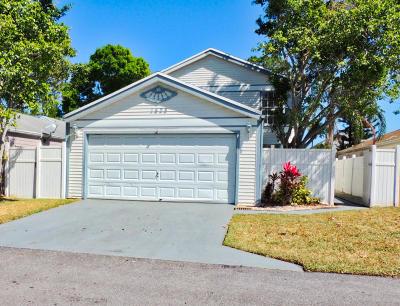 West Palm Beach Single Family Home For Sale: 1428 Blue Clover Lane
