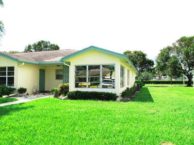 Delray Beach Single Family Home For Sale: 14270 Nesting Way #D