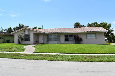 Boca Raton Single Family Home For Sale: 1098 SW 11th Street