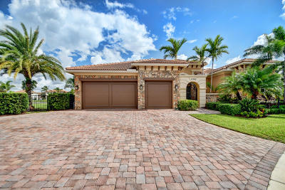 Boca Raton Single Family Home For Sale: 17369 Vistancia Circle