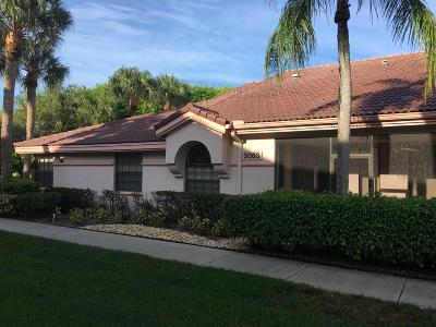 Boynton Beach Single Family Home For Sale: 5083 Splendido Court #B