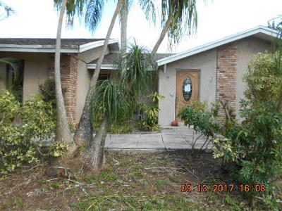 Loxahatchee Single Family Home For Sale: 3760 Learwood Drive