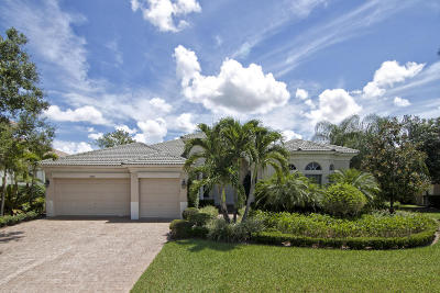 Wellington FL Single Family Home For Sale: $819,000