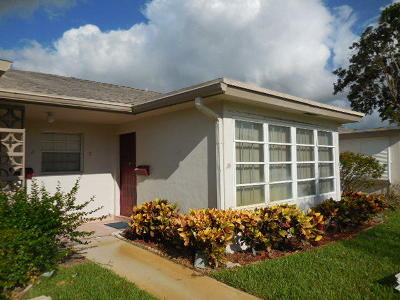 Delray Beach Single Family Home For Sale: 1310 High Point Place S #B