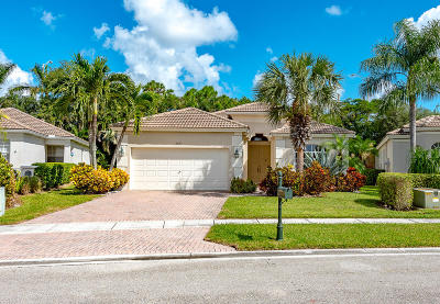 Boynton Beach Single Family Home For Sale: 6683 Southport Drive