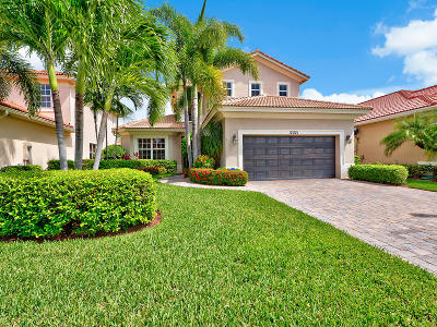 Palm Beach Gardens Single Family Home Contingent: 12021 Aviles Circle