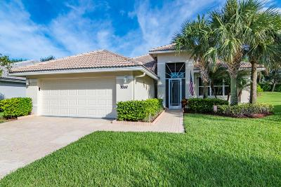 West Palm Beach Single Family Home Contingent: 9348 Heron Cove Drive