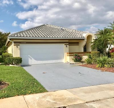 Boca Raton Single Family Home For Sale: 11246 Clover Leaf Circle
