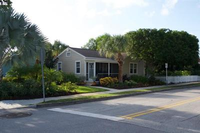 West Palm Beach Single Family Home For Sale: 2400 Ridgeway Avenue