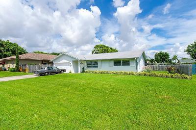 Delray Beach Single Family Home For Sale: 4711 Barrett Street