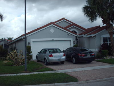 Boynton Beach Single Family Home For Sale: 7201 Louisiane Court