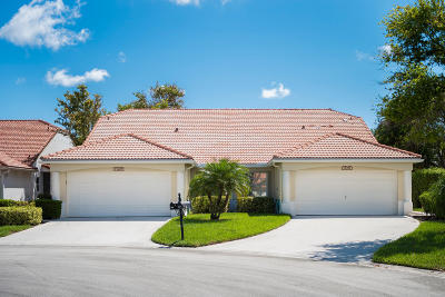 Delray Beach Townhouse For Sale: 15397 Lake Gardenia Place