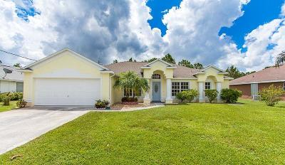 Port Saint Lucie, Saint Lucie West Single Family Home For Sale: 5554 NW South Lundy Circle