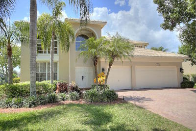 Jupiter Single Family Home Contingent: 266 Swallowtail Lane