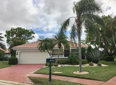 Boca Raton Single Family Home For Sale: 10176 Sunset Bend Drive